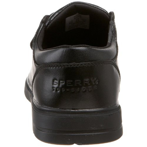 Sperry Top-Sider Miles Dress Shoe (Toddler/Little Kid/Big Kid),Black,5 W US Big Kid by Sperry (Image #2)