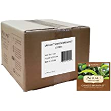 Numi Organic Tea, Chinese Breakfast, Full Leaf Black Tea, 100 Count Bulk non-GMO Tea Bags