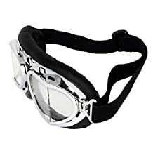 Meanhoo Harley-Davidson motorcycle Accessories helmet goggles Flying Vintage Men Protect Riding Goggles Glasses Black