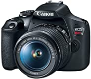 Canon EOS Rebel T7 DSLR Camera with 18-55mm Lens | Built-in Wi-Fi | 24.1 MP CMOS Sensor | DIGIC 4+ Image Proce