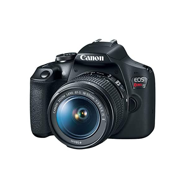 Canon EOS Rebel T7 DSLR Camera with 18-55mm Lens | Built-in Wi-Fi|24.1 MP CMOS Sensor |DIGIC 4+ Image Processor