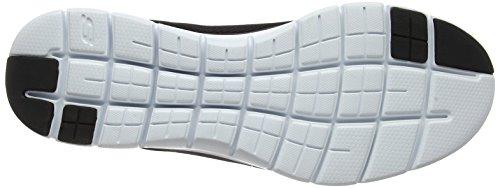Skechers Mens Flex Advantage 2.0 - Dayhow Scarpa Casual Nero / Bianco