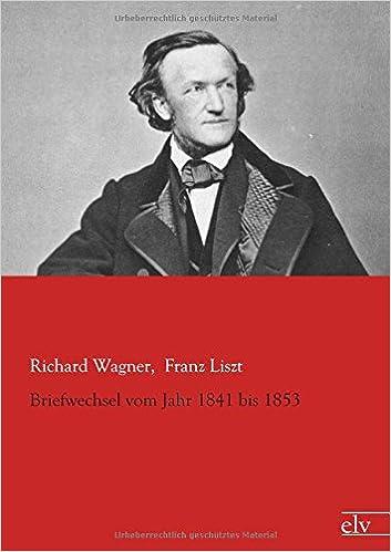 Book Briefwechsel vom Jahr 1841 bis 1853
