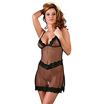 2908281a4d40a Cottelli Collection Lingerie Small Chemise: Amazon.co.uk: Health ...