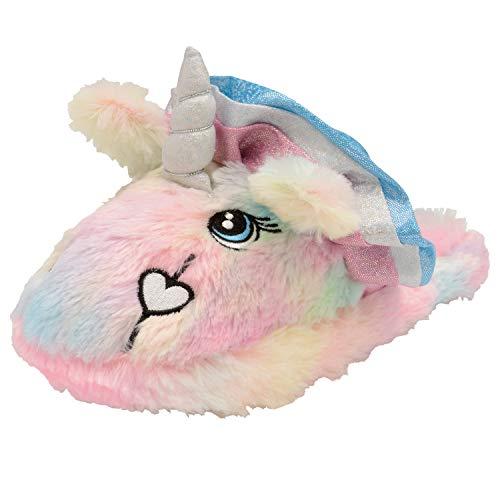 3D nouveauté Chaussures Femmes Animal Femmes Filles Rainbow Duveteux Licorne Unicorn Pour Et Pantoufles wq4BwRY