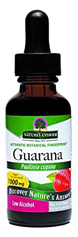Nature's Answer Guarana Seed with Organic Alcohol,