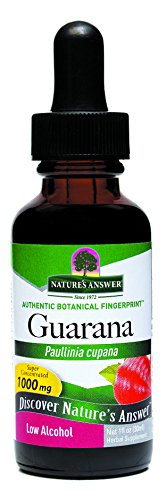 Nature's Answer Guarana Seed with Organic Alcohol, 1-Fluid Ounce