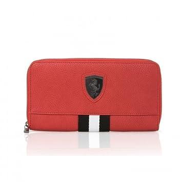 Ferrari Original Ladies Wallet Purse Red Crest  Amazon.co.uk  Car    Motorbike 081e013ddd216