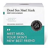 *NOUVEAU* Masque de boue de la Mer Morte 200g - le nettoyage des pores profonds, le traitement de l'acné sur visage et corps. Purifie les toxines et impuretés, élimine cellules mortes et excès huile