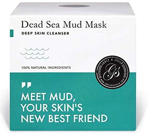 Mascarilla facial hidratante, mar muerto