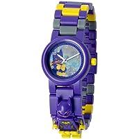 LEGO Batman Movie 8020844 Batgirl Kids Minifigure Link Buildable Watch | purple/yellow | plastic | 25mm case diameter | analogue quartz | boy girl | official