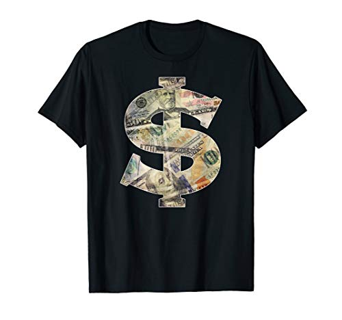 - Dollar Sign Cool Money T-Shirt - $ T-shirt