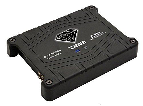 Corvette Black Bass (DS18 BD-3000.1 Black Diamond 3000 Watts 1 Channel/Monoblock Class D Amplifier with Bass Remote)