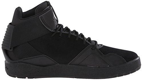 adidas Originals Herren Crestwood Mid-Top Fashion Sneakers Schwarz / Schwarz / Schwarz