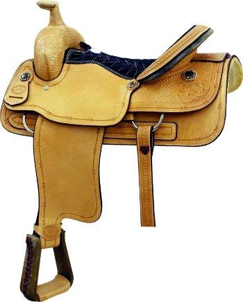 Billy Cook Saddlery Spur Roper Saddle Roughout