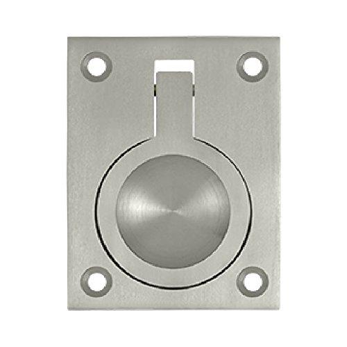 Nickel Accessory Flush Pulls - 4
