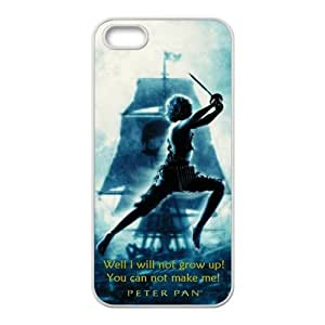 CTSLR Peter Pan Hard Case Cover Skin for Apple iPhone 4s 1 Pack - Black/White - 4s