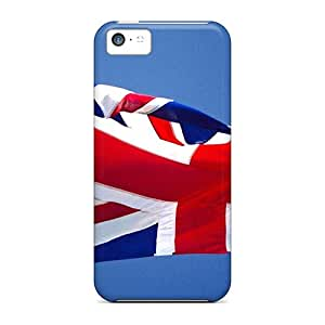 Top Quality Rugged British Flag Case Cover For Iphone 5c