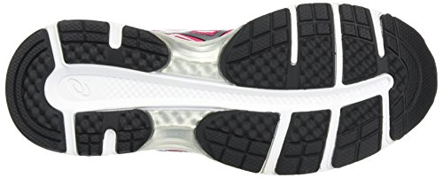 9 Black Rosa para Running Zapatillas Pink Cosmo Mujer Silver Asics Gel de Pulse Aqw81xE7
