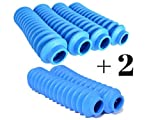 6 Shock Boots LIGHT BLUE Fits Most Aftermarket Shocks for Jeeps, Trucks, SUV and other Universal Off Road Vehicles