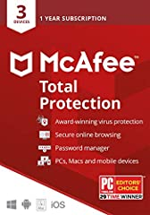 McAfee Total Protection delivers enhanced protection for your digital life, including your computers, mobile devices and your identity.