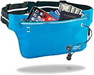 UltraSlim Fanny Pack, Water Resistant Fitness Sports Running Belt, Fits 60 to 110 cm Waist Sizes, All Around 3