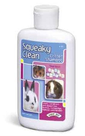 Small Animal Supplies Squeaky Clean Critter Shampoo 8 oz