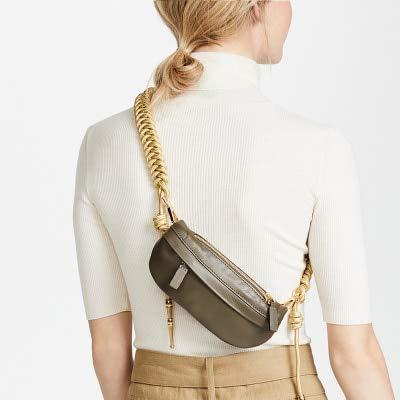 Amazon.com: Funnmart Moda Nuevo cinturón de cuero Fanny Pack ...