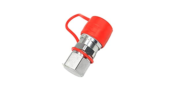 Weelparz 7246790 Female Quick Connect Coupler Flat Face for Bobcat 863 873 773 7753 963