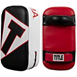 Title Boxing MMA Micro Thai Pads (Pair), Black/White/Red
