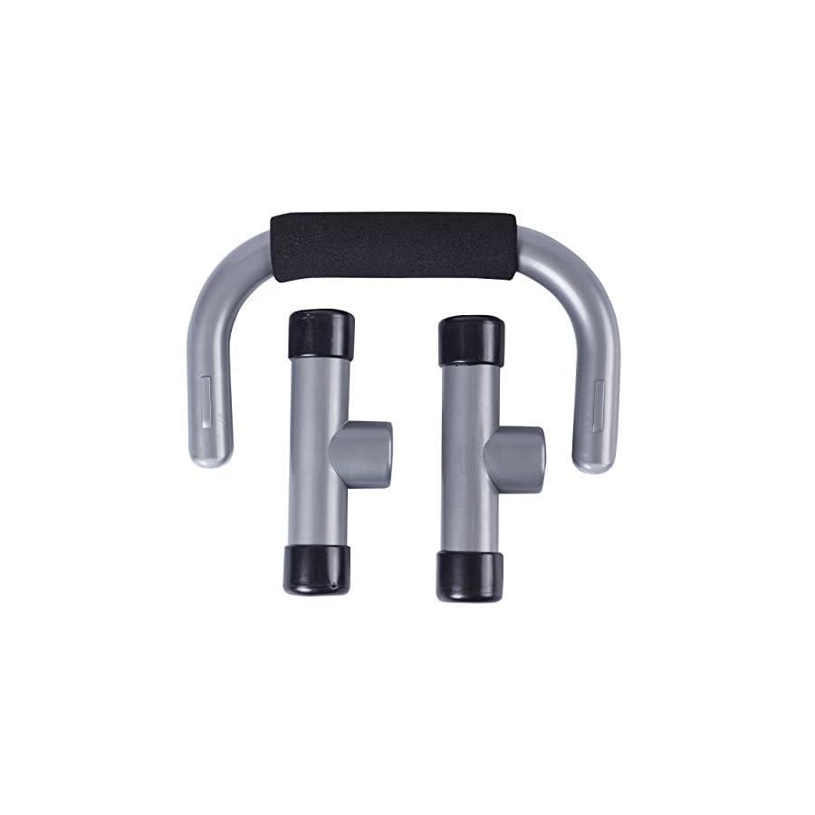 Spirit TCR Push Up Bar Parallettes, Silver/Ash