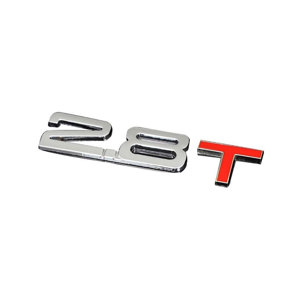 Color : 1.3T FORTR Home 3D M/étal 1.6 1.8 2.0 3.0 3.0 T Logo Embl/ème Badge Voiture Styling Stickers Stickers D/écor pour Ford Mercedes-Benz BMW Volkswagen Passat Audi Diesel Convertible