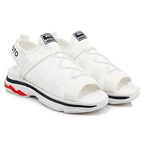 White Fashion Beach Sandals Women Outdoor Coolcept qnYx6OpW7w