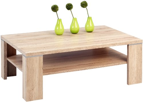 HomeTrends4You 222163Coffee Table 110x 40x 70cm, San Remo Oak Sand by HomeTrends4You