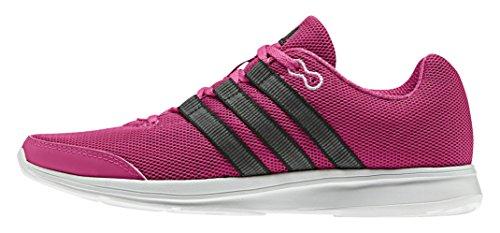 adidas Lite Runner W, Zapatillas de Deporte Para Mujer Rosa / Negro / Blanco (Eqtros / Negbas / Ftwbla)