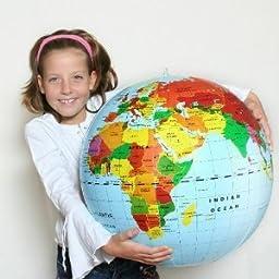 Inflatable World Globe 20\