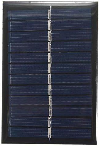 Z.L.FFLZ Mini Solar-Panel Mini-Solarzelle Polykristalline DIY Batterie Silicon Solar Panel Standard-Epoxy Stromlademodul 6V 0,6W