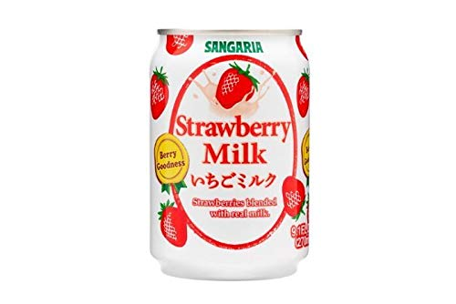 Sangaria Strawberry Milk, Extremely Popular in Japan - 8.69 Fl Oz | Pack of 12 by SANGARIA (Image #1)