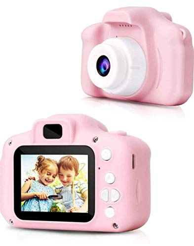 Shree Hari Enterprise Kids Digital Camera | Web Camera for Computer Child Video Recorder Camera Full HD 1080P Handy Portable Camera 2.0 Screen with Inbuilt Games for Kids (Multicolor)