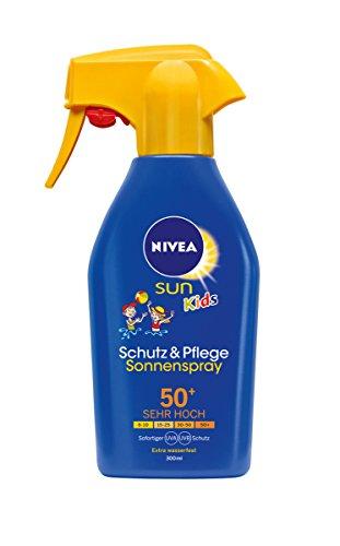 Nivea Sun Kids Pflege Sonnenspray LF50+, 1er Pack (1 x 300 ml)