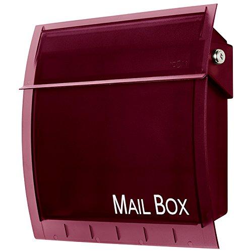 icon (アイコン) 郵便受け ポスト アイコン カルヴァ アイコン カルヴァ ボルドー B073GR7R25 10260  ボルドー