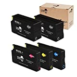 MIROO Remanufactured Ink Cartridge Replacement for HP 952xl ( Black , 2-Pack )