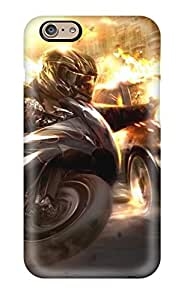 New Style Tpu 6 Protective Case Cover/ Iphone Case - Guns Cars Explosions Fires Vehicles Anime Motorbikes