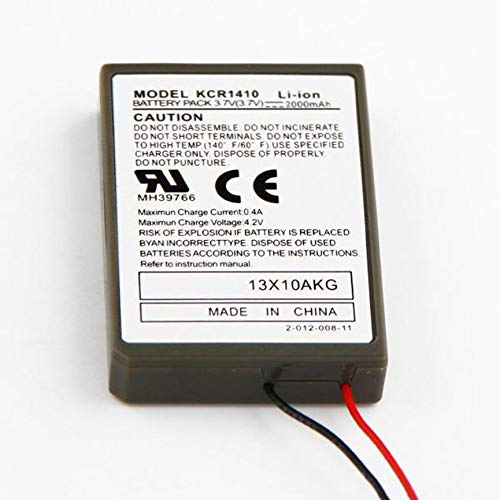 2000 mAh Peanutaoc 1 Pezzo per PS4 Playstation 4 Wireless Controller V1 Batteria di Ricambio Sony LIP1522