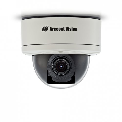 - Arecont Vision 5 Megapixel MegaDome 2 IP Camera: Day/Night, 3.6-9mm Remote Focus, Remote Zoom, Auto Iris Lens, PoE Heater, Vandal-Proof AV5255AM-H