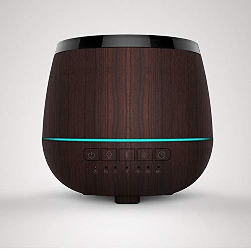 QAQ Máquina De Aromaterapia QP Humidificador De Difusión De Aceite Esencial Música Altavoz Inteligente Bluetooth LED Luz...