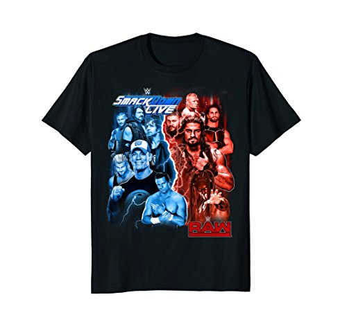 WWE Raw & Smackdown Live Champs Graphic T-Shirt by WWE