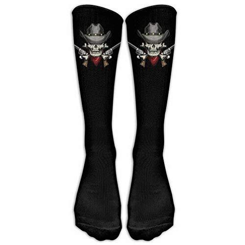 Halloween Party Cool Skull Skeleton Stockings Long Tube Socks, Great Quality Classics Knee High Socks Sports Socks for Women Men One Size 1 Pair by SERY