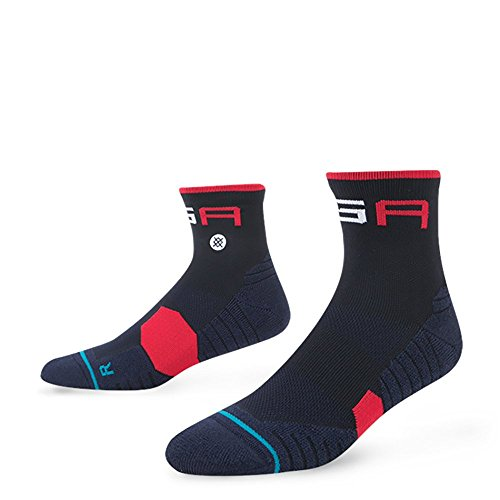 Stance Ryder Cup Socks QTR Blue Large