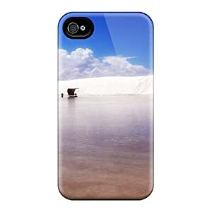 Hot Blue Beach Seas Skyscapes First Grade Tpu Phone Case For Iphone 4/4s Case Cover by rushername